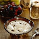 kefir flax seed porridge