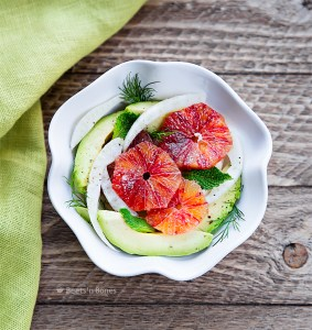 fennel avocado blood orange salad