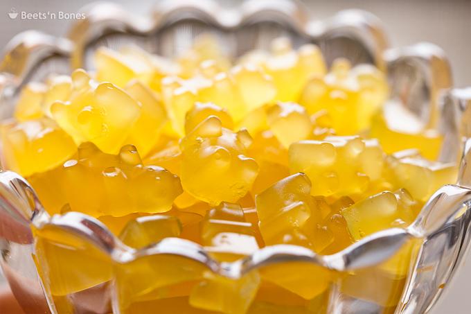 homemade orange gummy bears