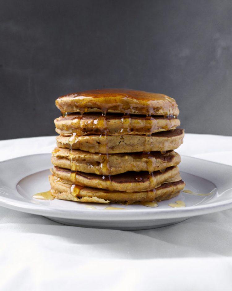 roasted butternut squash pancakes