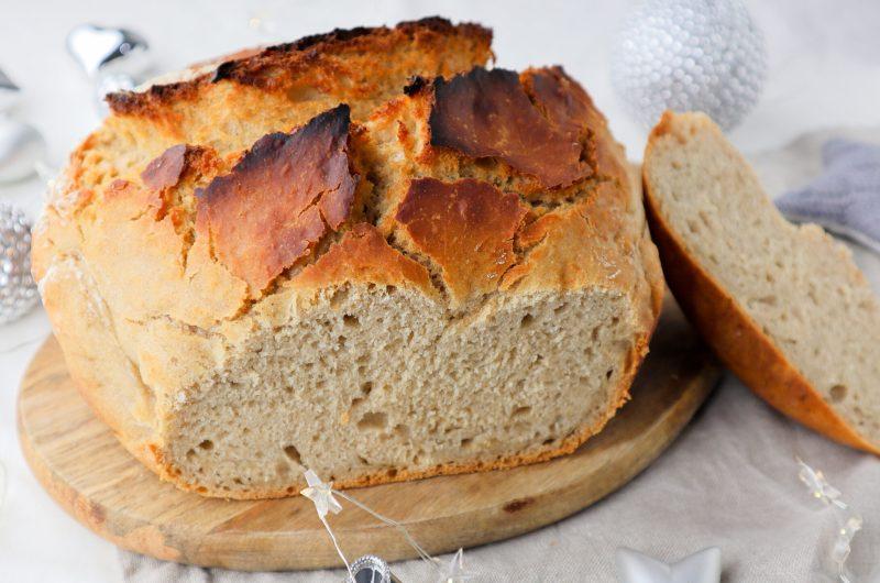 No-knead Sweet Cinnamon Bread