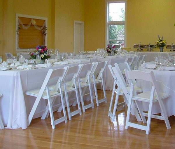 White Wooden Folding Chairs Wedding Chair Hire Be Event Hire