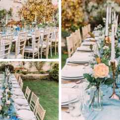 Wedding Chair Covers Melton Mowbray Under Storage Chiavari Style Ideas Be Furniture Hire Garden Using Distressed Tables And Chairs Event