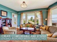 Create Comfortable and Stylish Living Rooms with Windows