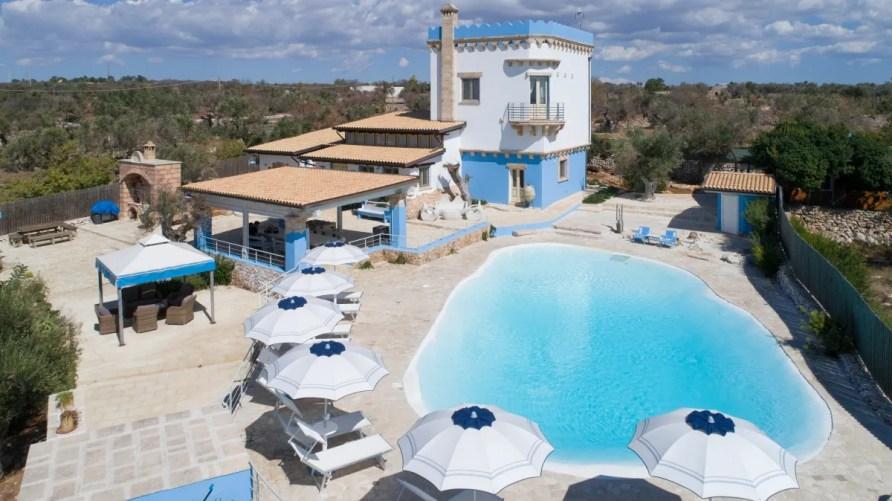 Luxury Pool Villa Aurora Alliste Puglia to enjoy Sea Urchins
