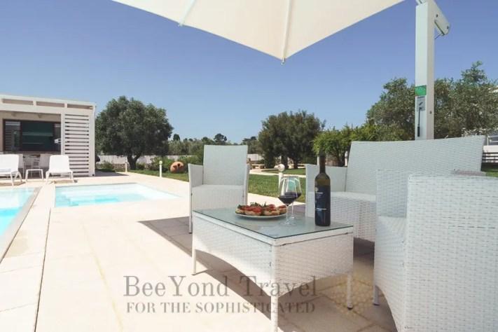 Luxury Pool Villa Afrodite Otranto to enjoy Sea Urchins Otranto Puglia