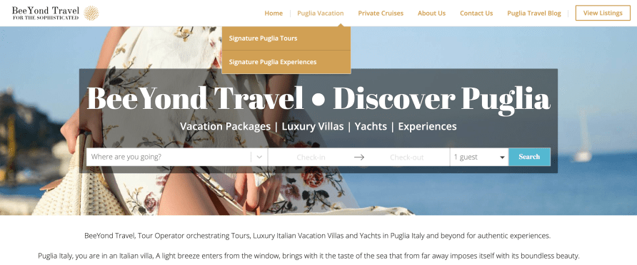 Tour Packages in Puglia by BeeYond Travel