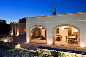 Luxury Villa by Night in Puglia