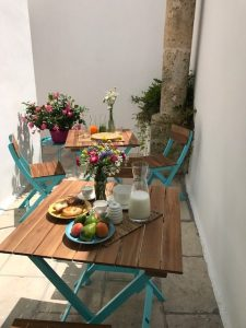 Outdoor Breakfast in Puglia