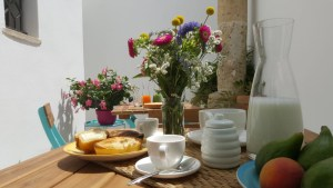 Breakfast on vacation in Puglia