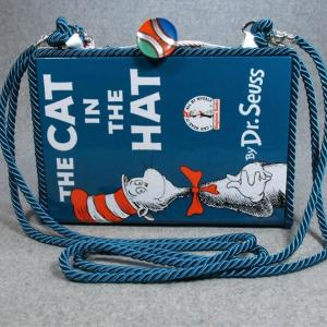 The Cat In The Hat Vintage Book Purse