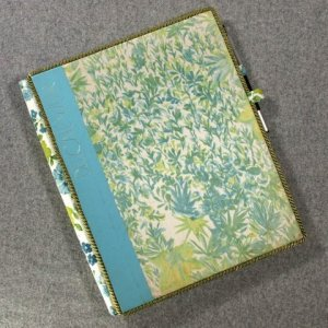 The Art of Sewing: Delicate Wear Vintage Book Padfolio