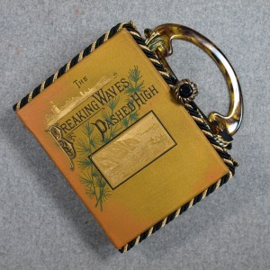 The Breaking Waves Dashed High Vintage Book Hand Purse