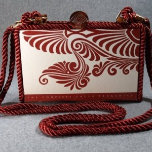 Aeschylus Vintage Book Shoulder Purse