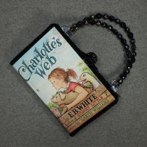 Charlotte's Web Vintage Book Hand Purse