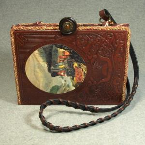 The Old West: The Railroaders Vintage Book Laptop Purse