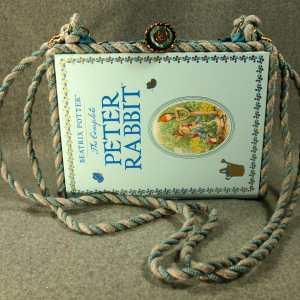 The Complete Peter Rabbit Vintage Book Shoulder Purse