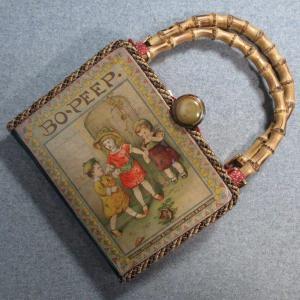 Bo-Peep Vintage Book Tablet Purse