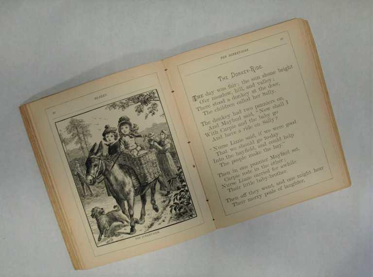 BZ14423 BoPeep Vintage Book interior book pages three