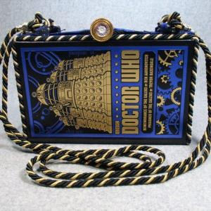 Doctor Who Remembrance of the Daleks Book Shoulder Purse