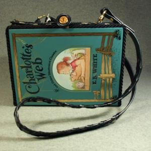 Charlotte's Web Vintage Book Tablet Purse