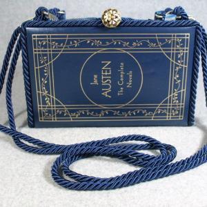 Jane Austen The Complete Novels Vintage Book Shoulder Purse