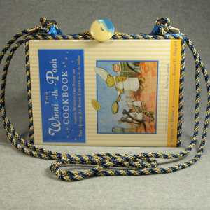 The Winnie-the-Pooh Cookbook Vintage Book Shoulder Purse
