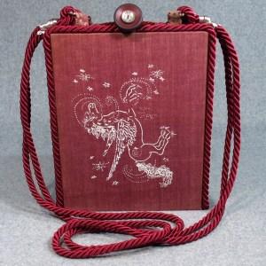 Pegasus Vintage Book Shoulder Purse