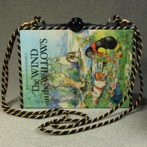 The Wind in The Willows Vintage Book Laptop Purse