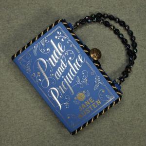 Pride and Prejudice Vintage Book Hand Purse