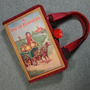 A Dog of Flanders Vintage Book Hand Purse