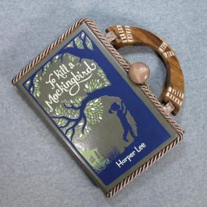 To Kill a Mockingbird Vintage Book Hand Purse