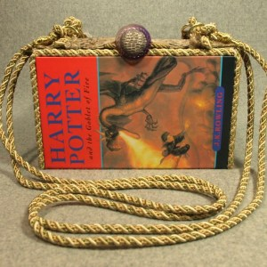 Harry Potter & The Goblet of Fire Book Purse