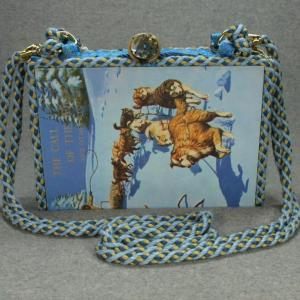The Call of The Wild & Other Stories Vintage Book Shoulder Purse