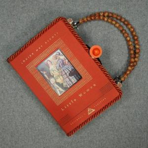 Little Women Vintage Book Hand Purse