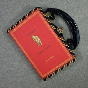 The House at Pooh Corner Vintage Book Hand Purse
