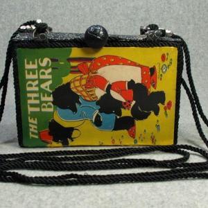 The Three Bears Vintage Book Purse