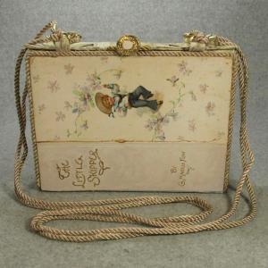 The Little Skipper Vintage Book Shoulder Purse