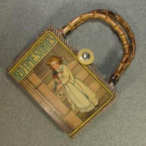 Bed-Time Stories Vintage Book Tablet Purse