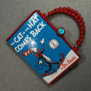 The Cat in The Hat Comes Back Vintage Book Hand Purse