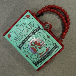 The Little Mermaid and Other Fairy Tales Book Hand Purse