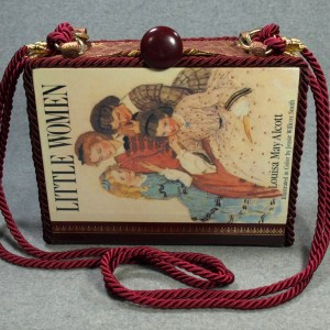 Little Woman Vintage Book Hand Purse