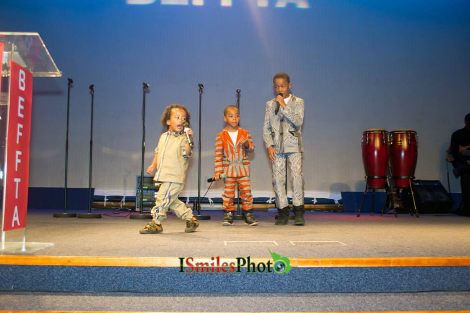 Youngest BEFFTA awards recipients Kaeydan 3, Khaliyl 5, Kieyen 9 perform live to thousands at BEFFTA