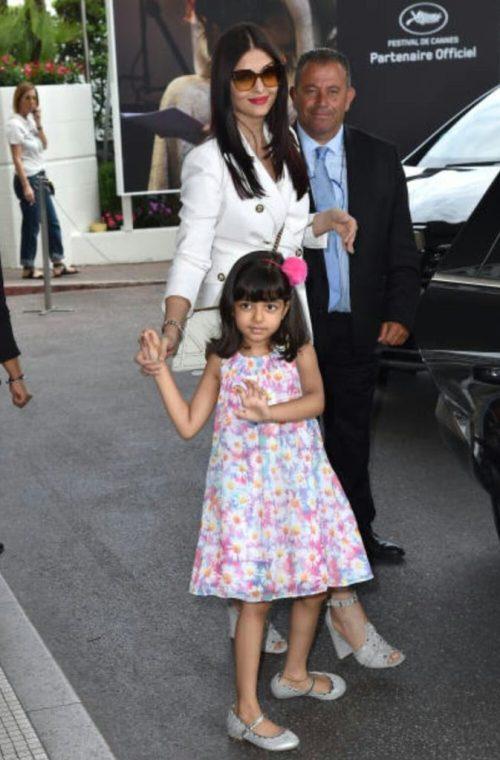 Aishwarya Rai With Her Daughter Aaradhya