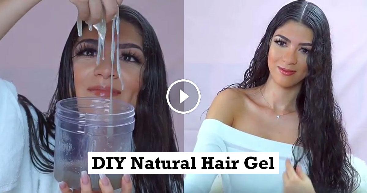 Diy Natural Hair Gel For Wet Hair Style Look