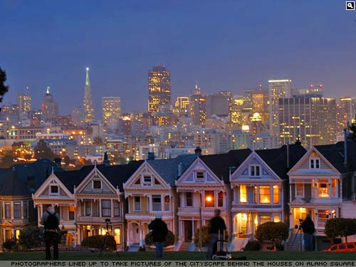 Houses on Alamo Square, San Francisco