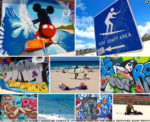 Bondi Beach.