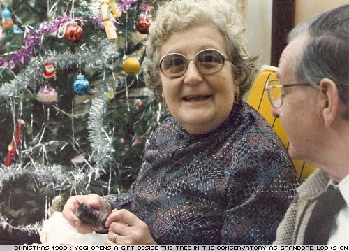 Doris Bradley, aka Yogi