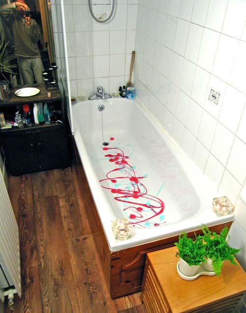 Bathtub art