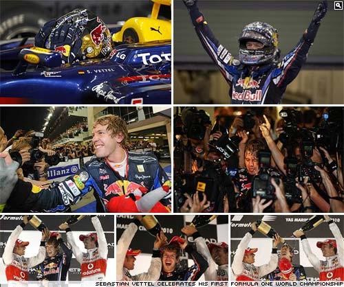 Sebastian Vettel. 2010 Formula One World Champion